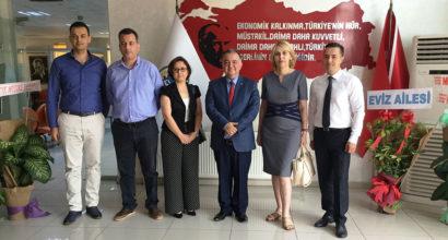 Osmaniye İŞGEM'den Ticaret ve Sanayi Odası Başkanı'na Ziyaret